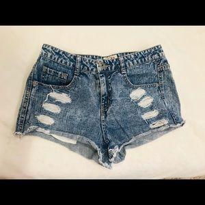 Mudd Size 9 High Waisted Jean Shorts
